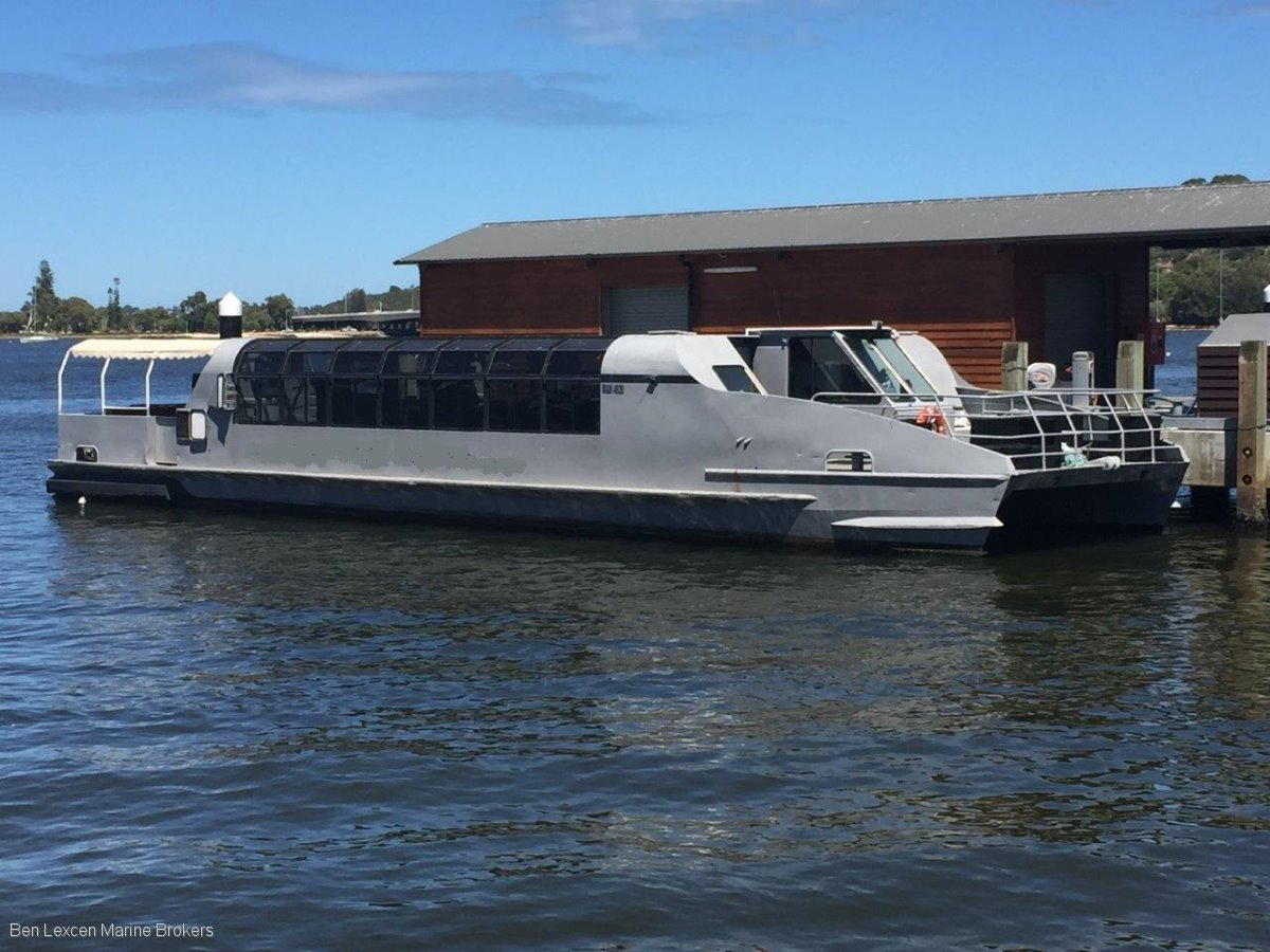 Custom PARTY BOAT ALUMINIUM BUSINESS