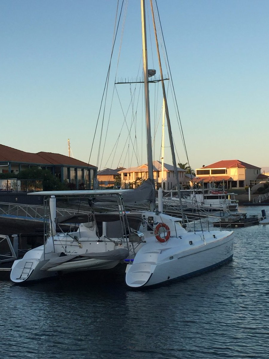 Fountaine Pajot Athena 38 18mth old refit offers more than original