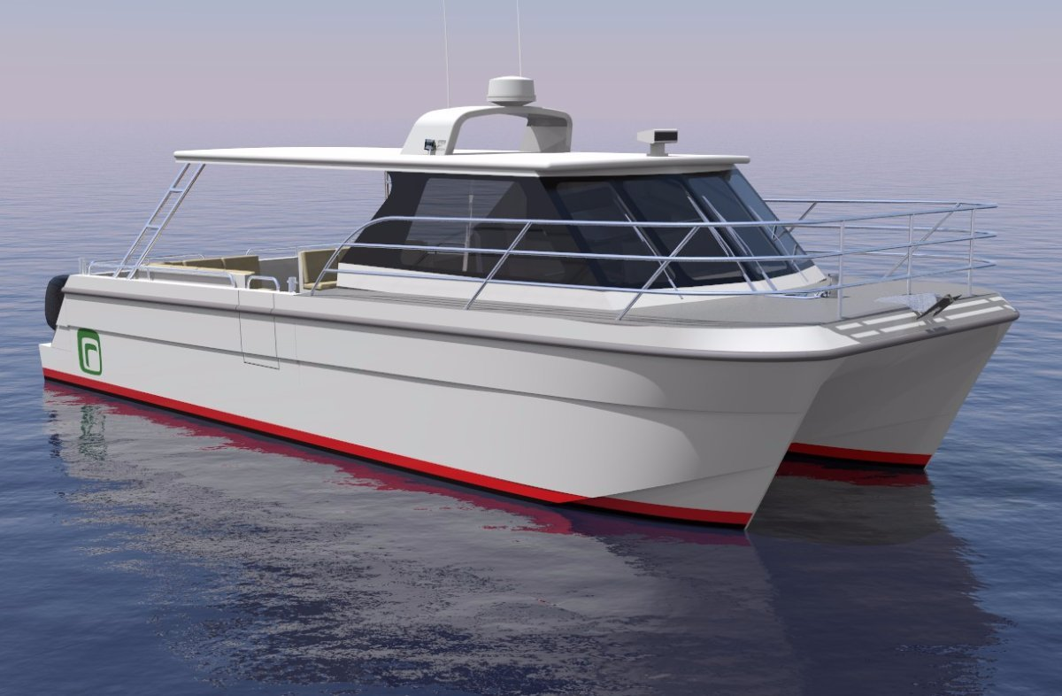 10m Day Cruiser Catamaran