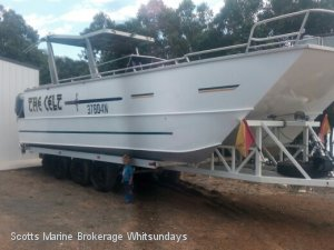 Custom 29FT ALLOY POWER CATAMARAN