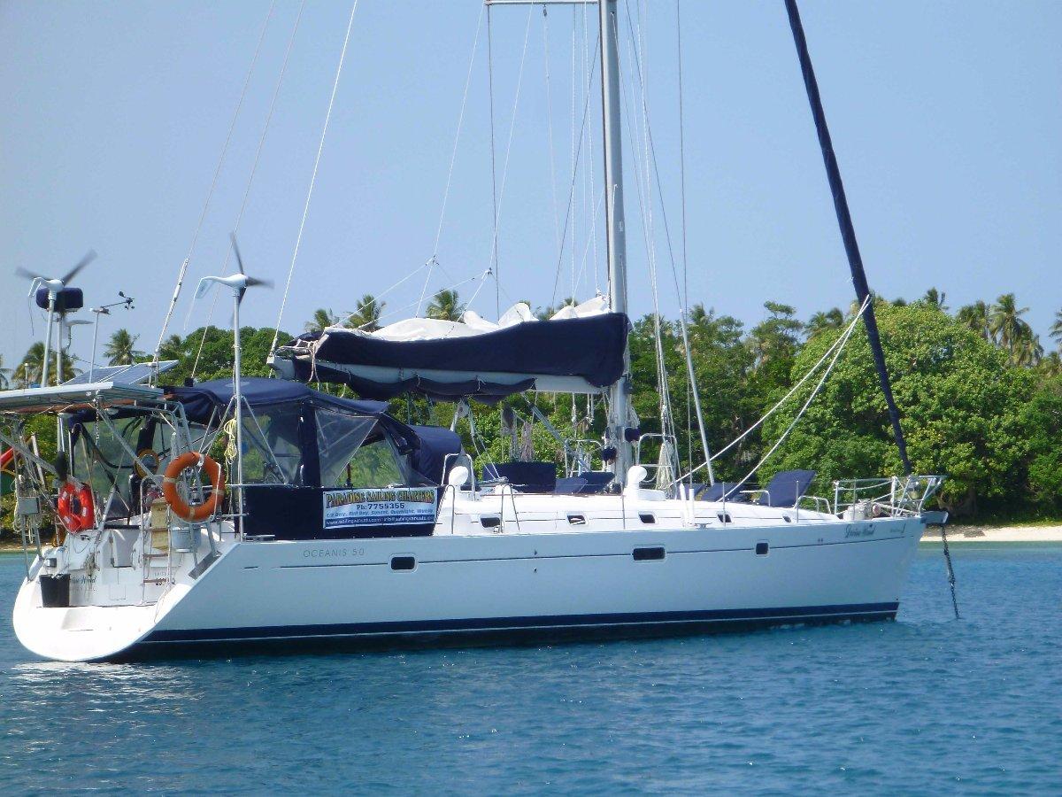 Beneteau Oceanis 50 Vanuatu charter business incl LAND.