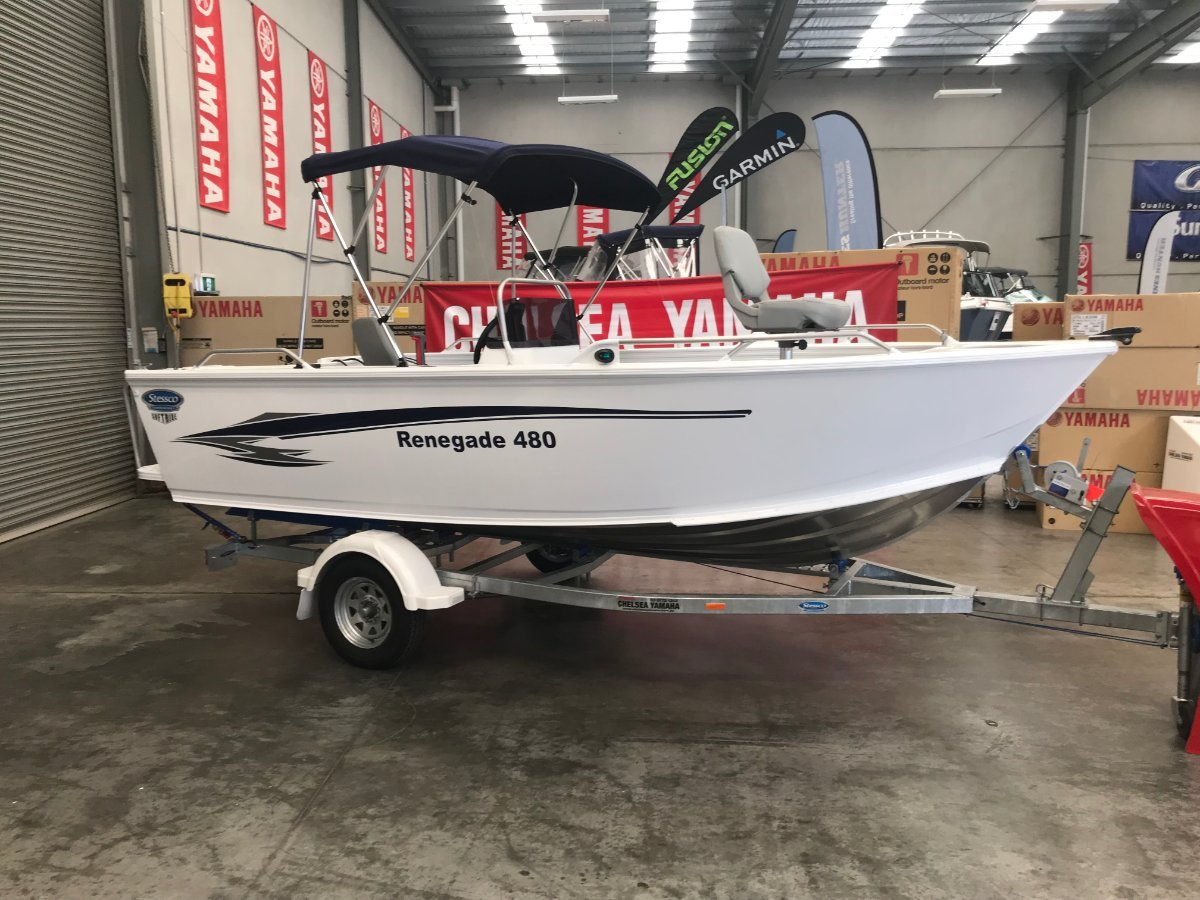 Stessco Renegade 480 powered with 70HP 4 st Yamaha $31918.00