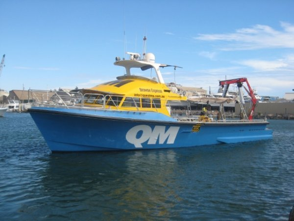 GBB Aluminium Charter Aluminium Twin Screw Charter Boat