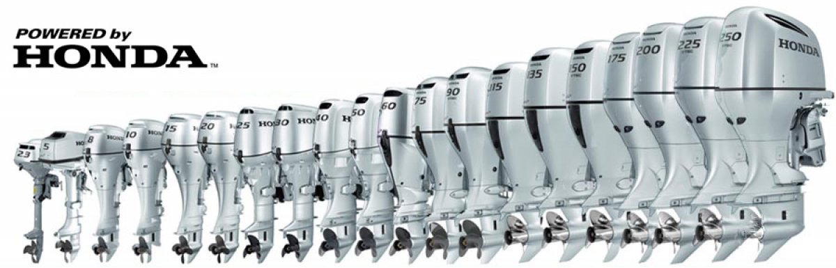 New HONDA 4 stroke outboards for sale