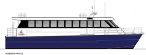 16.5m Flush Deck Passenger Cat