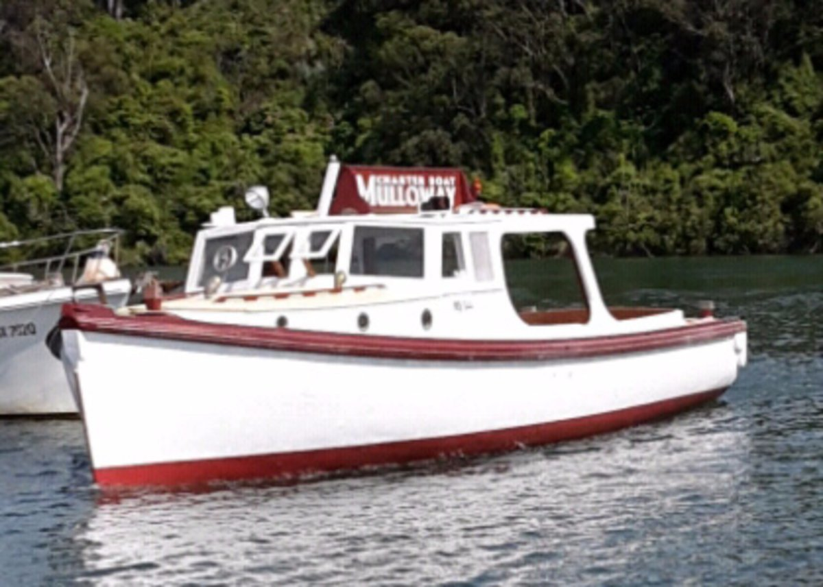 Custom 40 Australian Workboat + Charter Business
