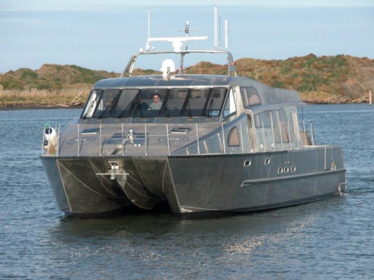Nic De Waal / Q West - Foil Assisted Catamaran