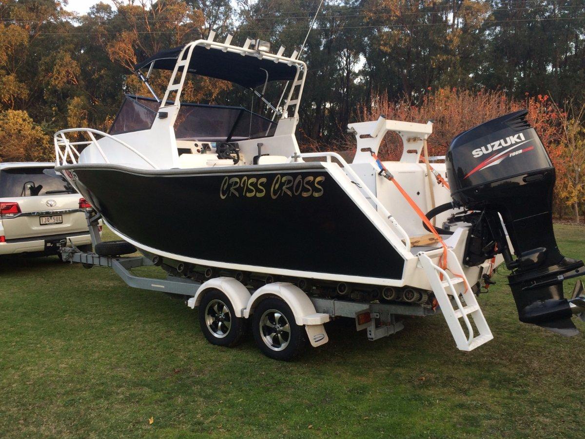 Razerline 63 Runabout 63m Plate Aluminum Olympian Boat