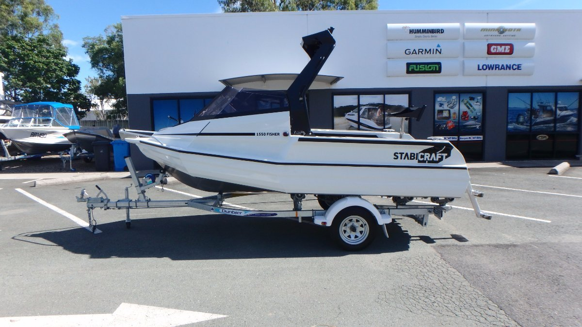 Stabicraft 1550 Fisher + Yamaha F60LB 60hp Four Stroke (N008042)