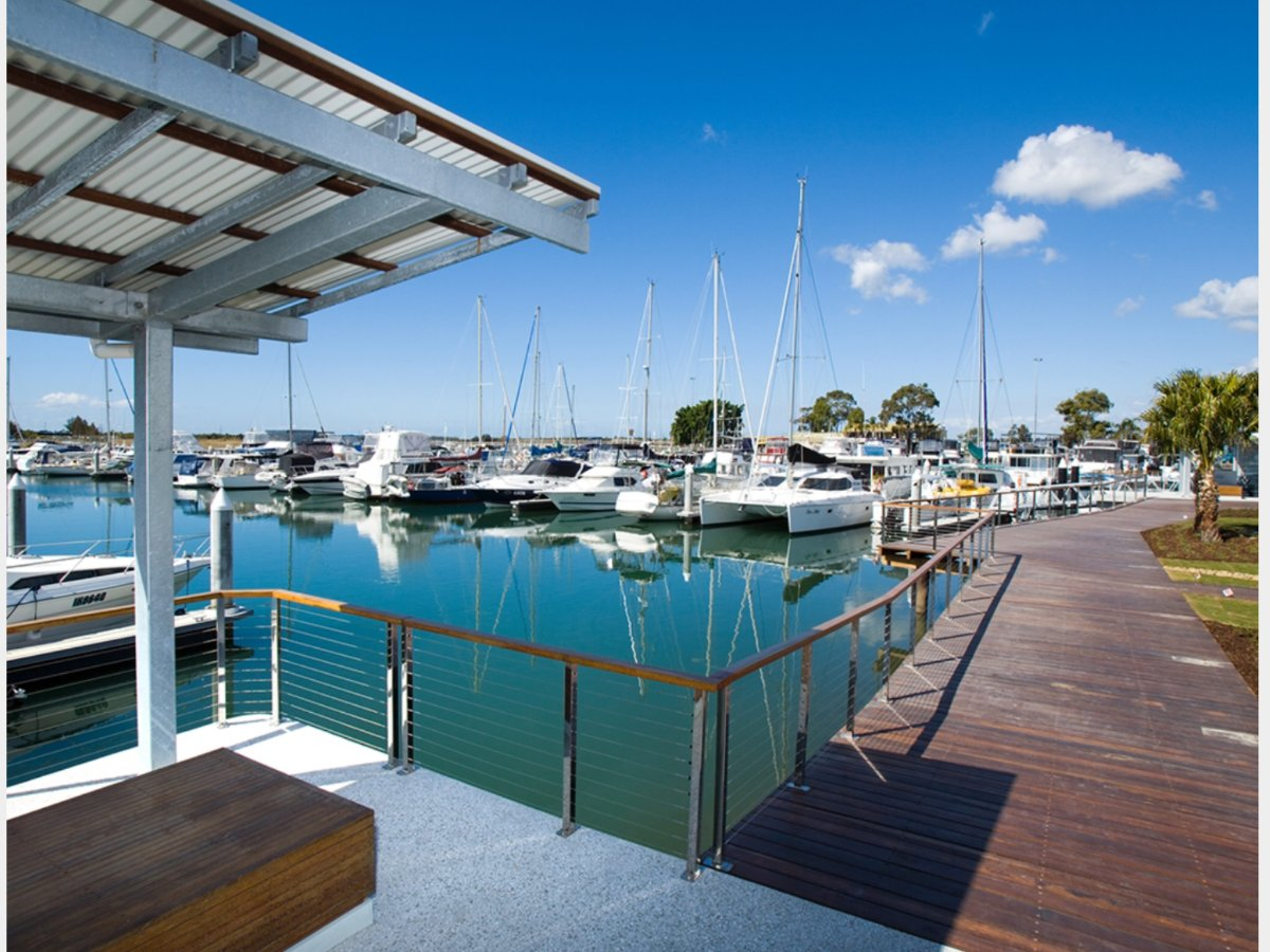 FOR SALE - 15Mts x 5Mts Berths at Horizon Shores Marina:Boardwalk to cafe