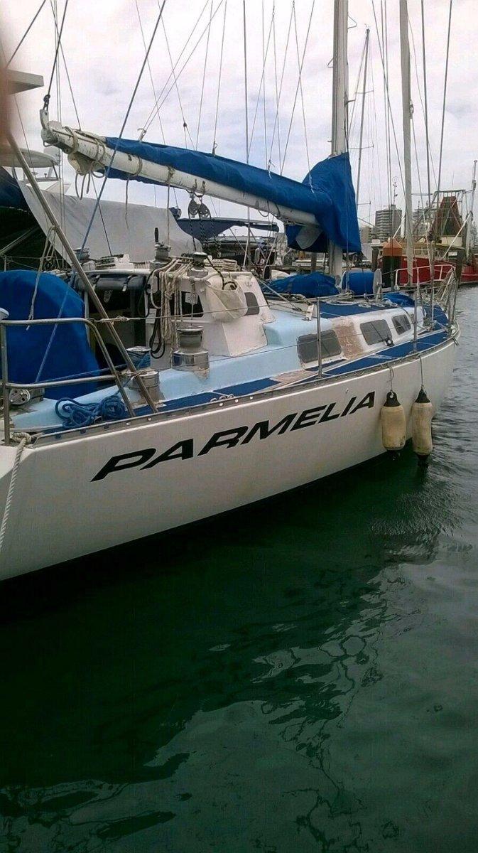 Curran 47ft Sailing Yacht - Phil Curran cruiser