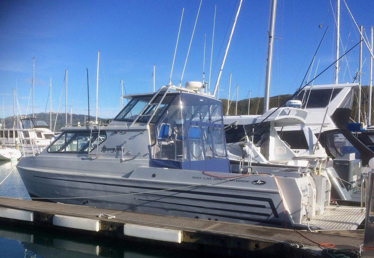 Spain McBride, Power Cat, Catamaran