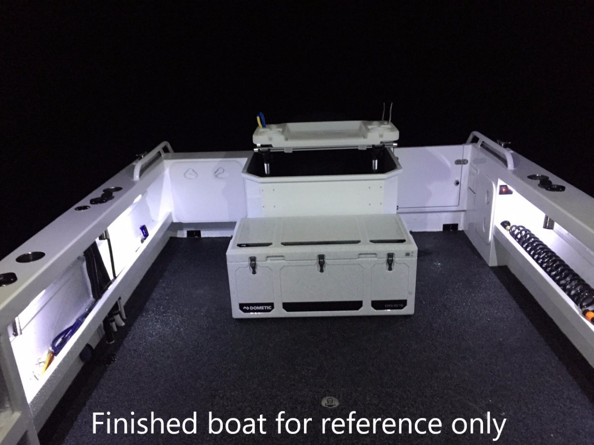 Oceanic Fabrication 7.6m Hardtop