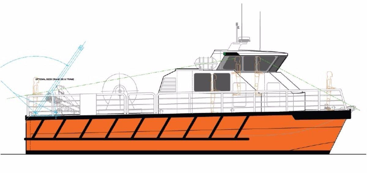 15m Oil Spill Response Vessel