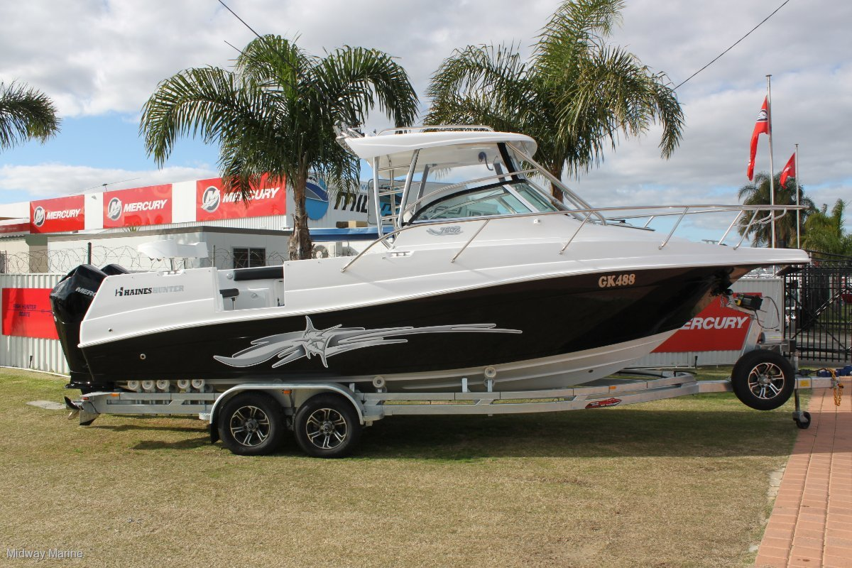 New Haines Hunter 760 R