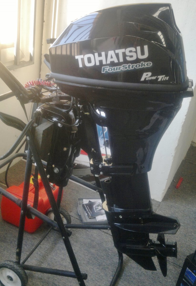 As New 2015 Tohatsu 20hp 4-Stroke