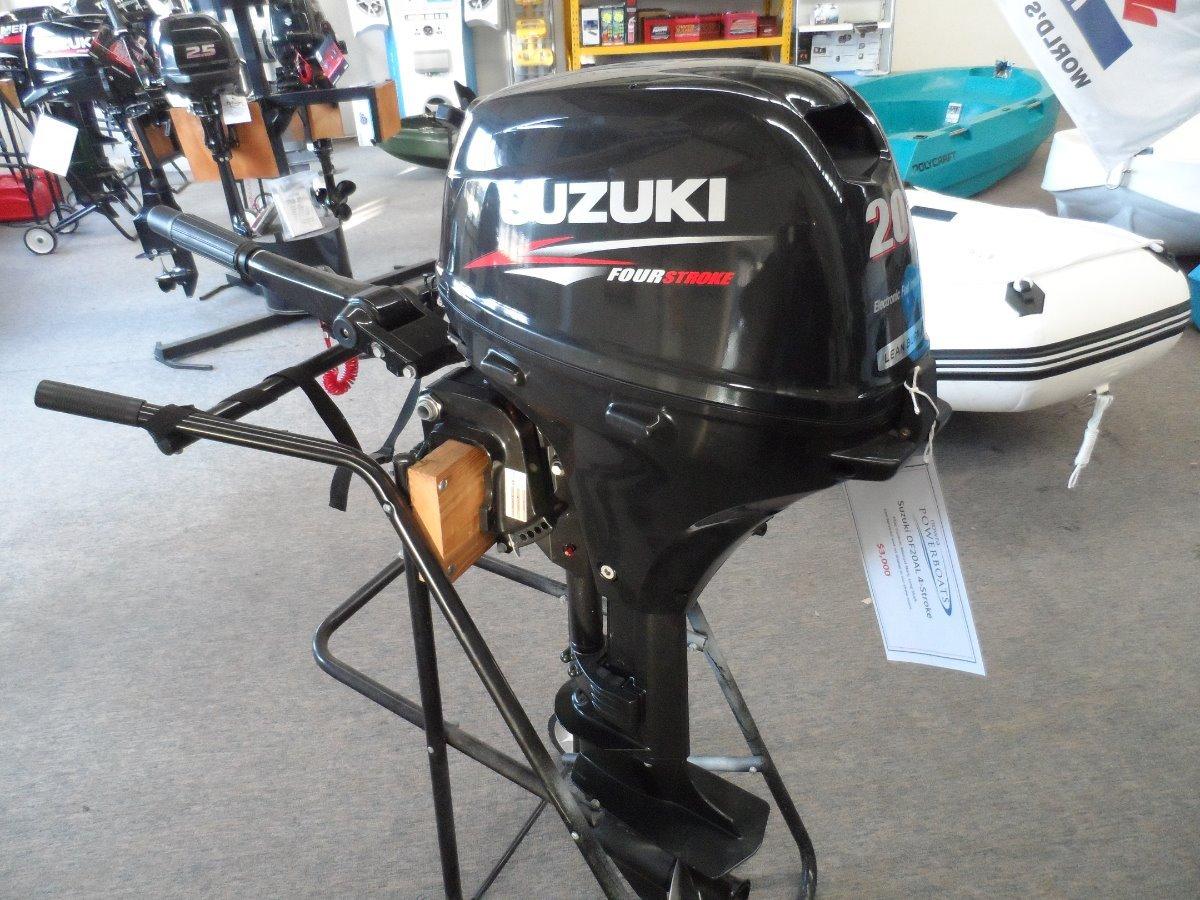 2015 Suzuki DF20AL Used