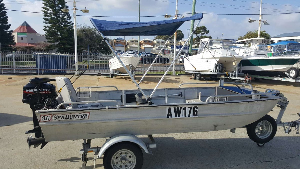 Sea Hunter 3.6M Punt