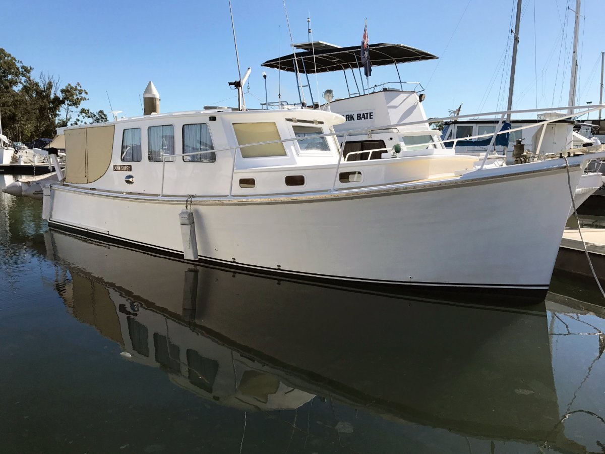 Millkraft 38 Baycruiser Sedan - Beautiful Timber Cruiser