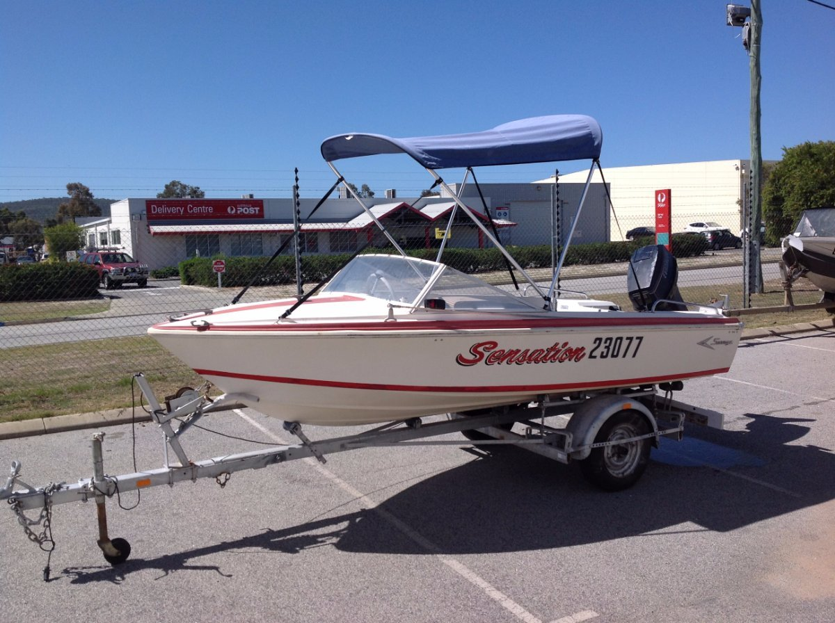 Savage Avenger Runabout Boat Package