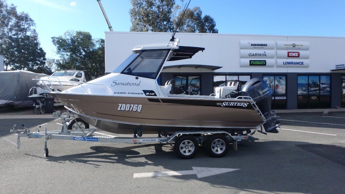 Surtees 610 Gamefisher + Yamaha F150XB 150hp Four Stroke (AS NEW!!!)