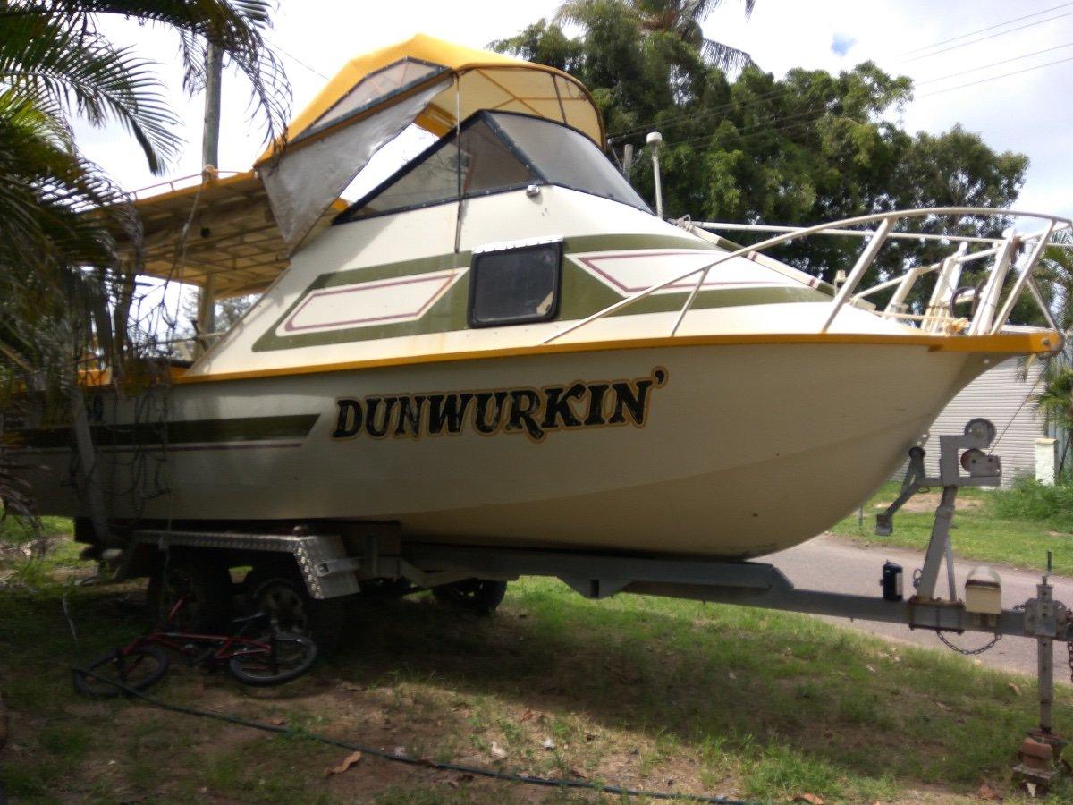Custom 7.8m Aluminium Fishing Boat