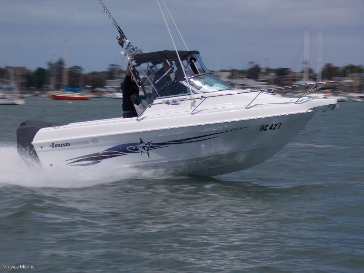 New Haines Hunter 565 Offshore
