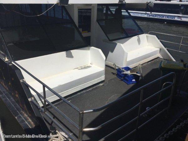 Custom Great Conversion house boat