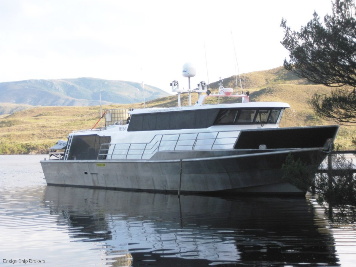 Legend Boats Aluminum Exploration Vessel