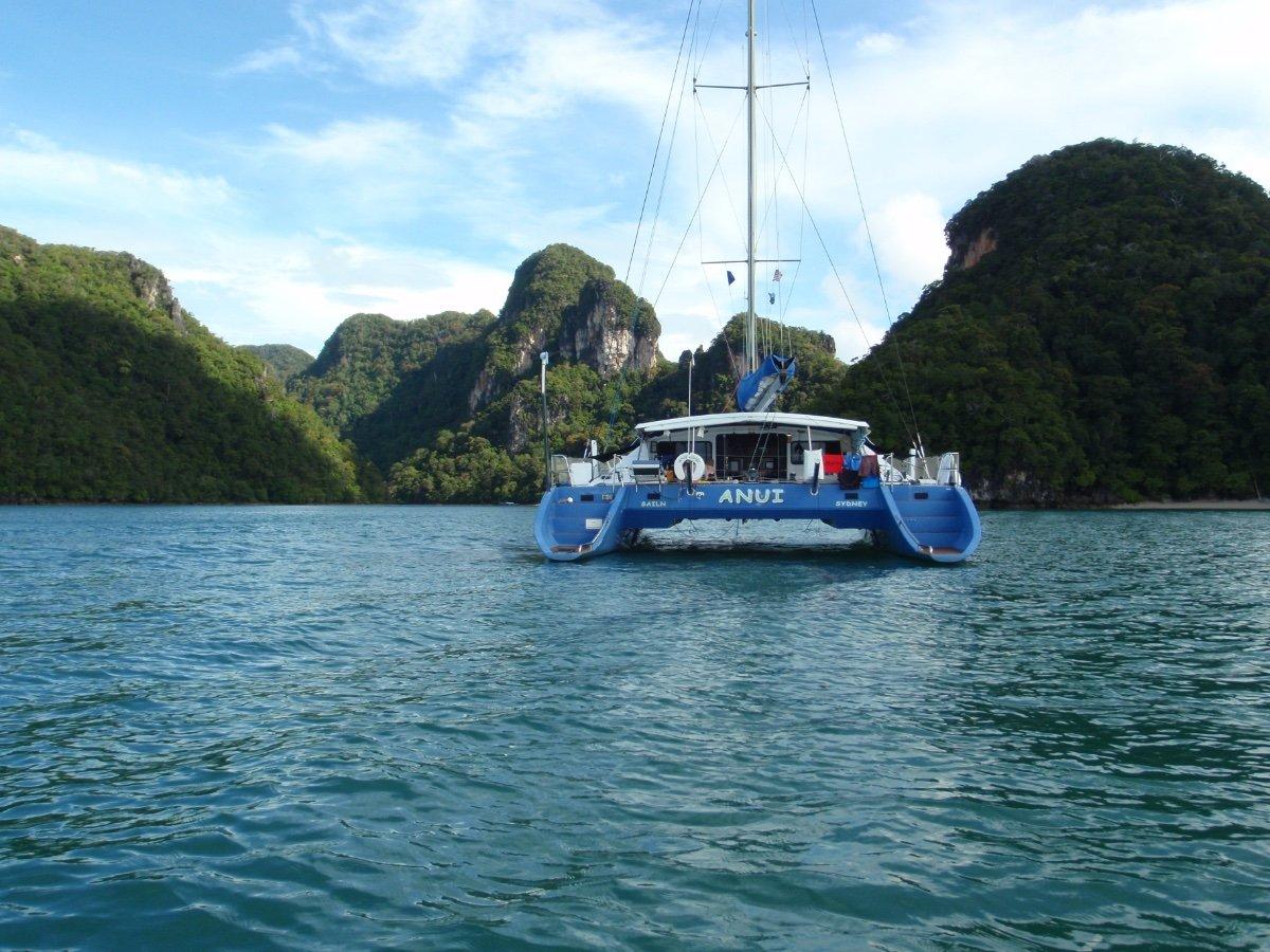 Crowther 52 Dagger Board performance sailing catamaran