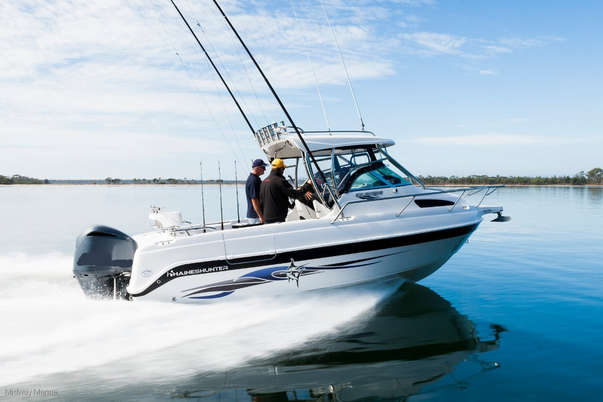 Haines Hunter 675 Offshore Hard Top