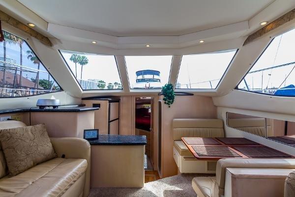Carver 404 Cockpit