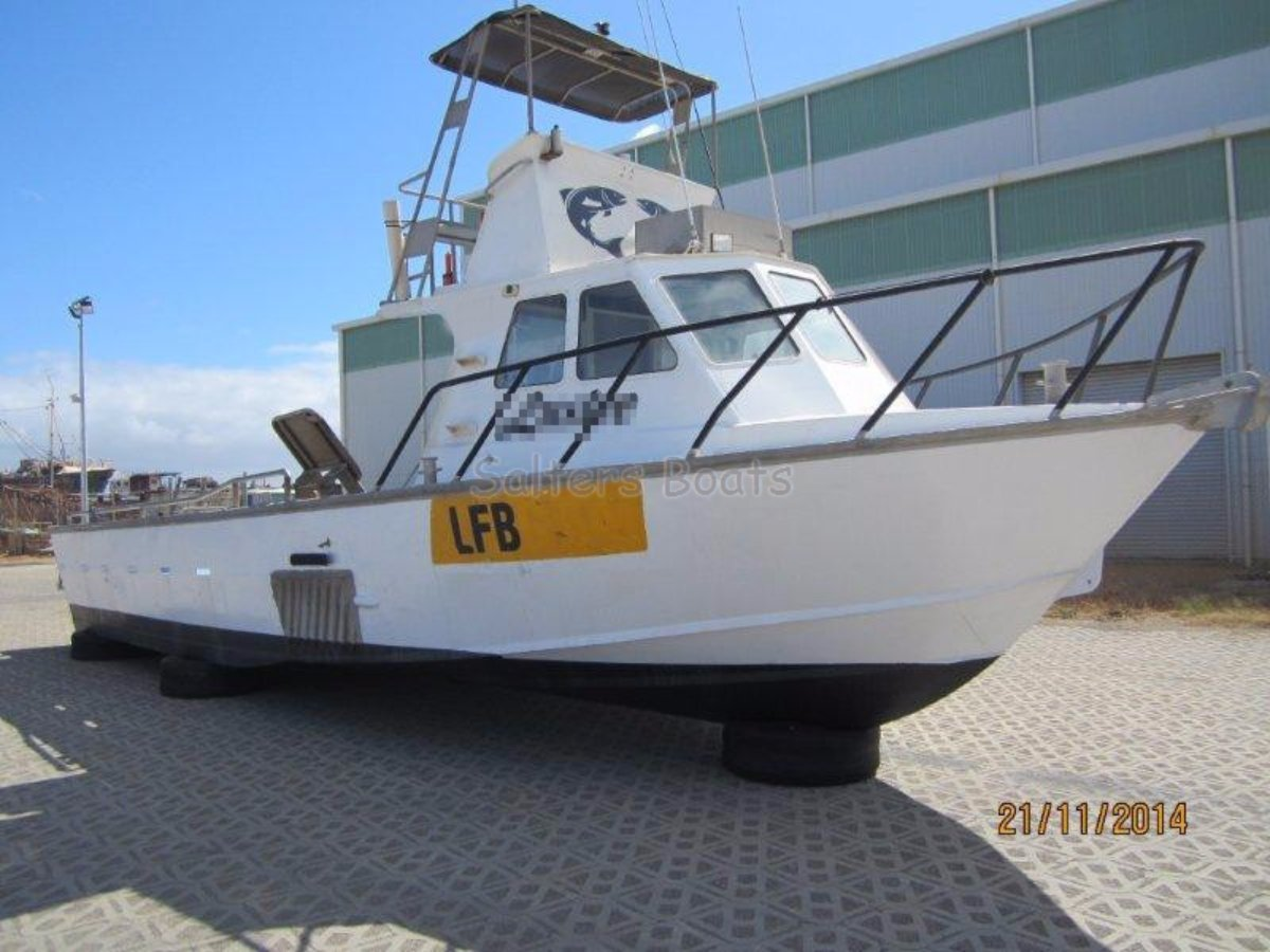 Star Aluminium Fishing 11m Jet Boat: Commercial Vessel | Boats Online for Sale | Aluminium ...