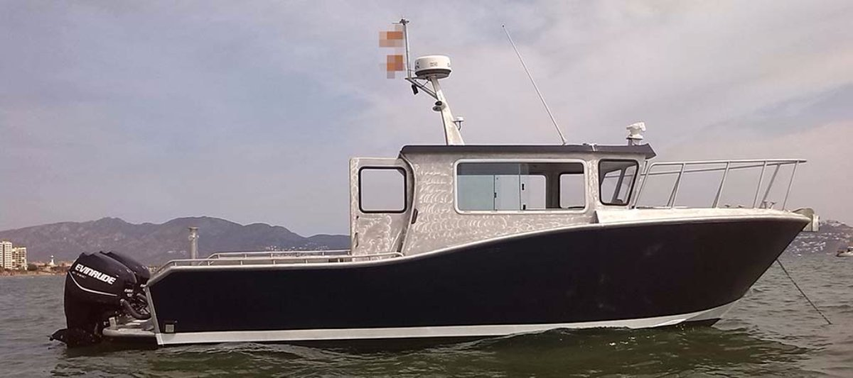 8.6m Alloy Work Boat