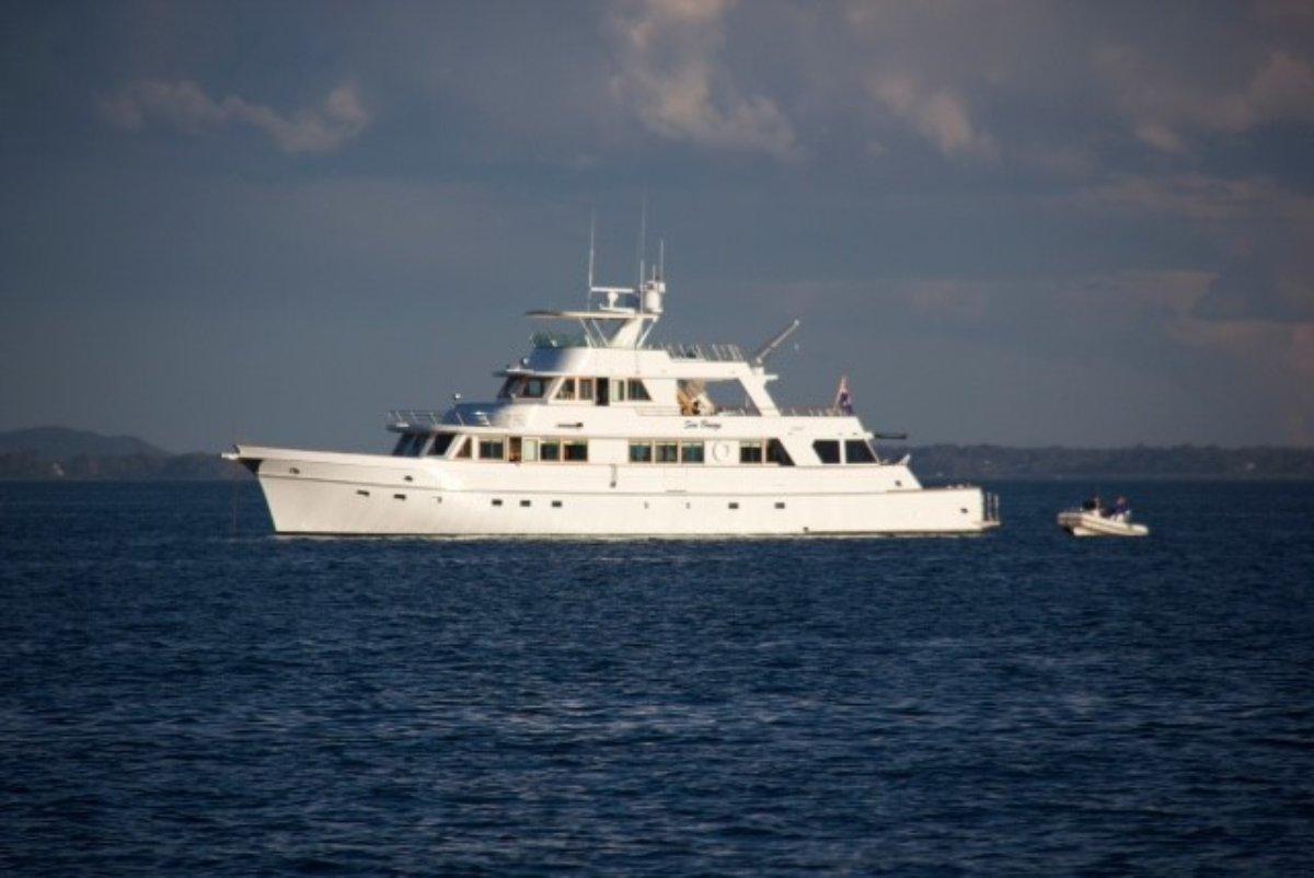 Custom Timber Motor Yacht