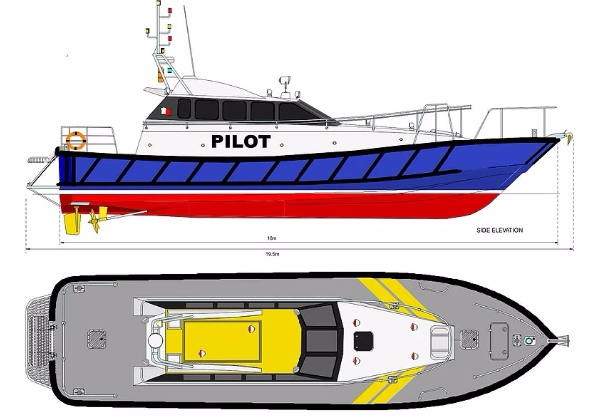 Safehaven Interceptor 60 Pilot Boat