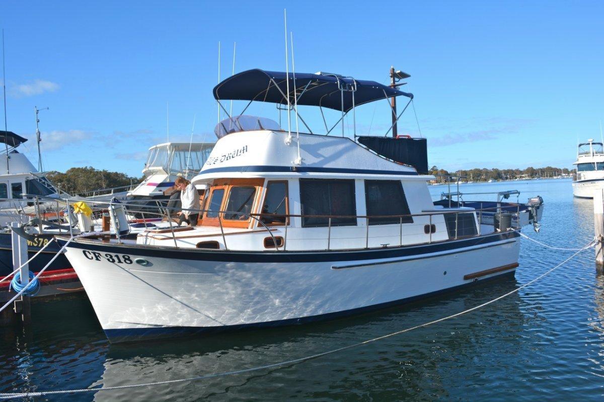 Clipper 34 Flybridge Cruiser