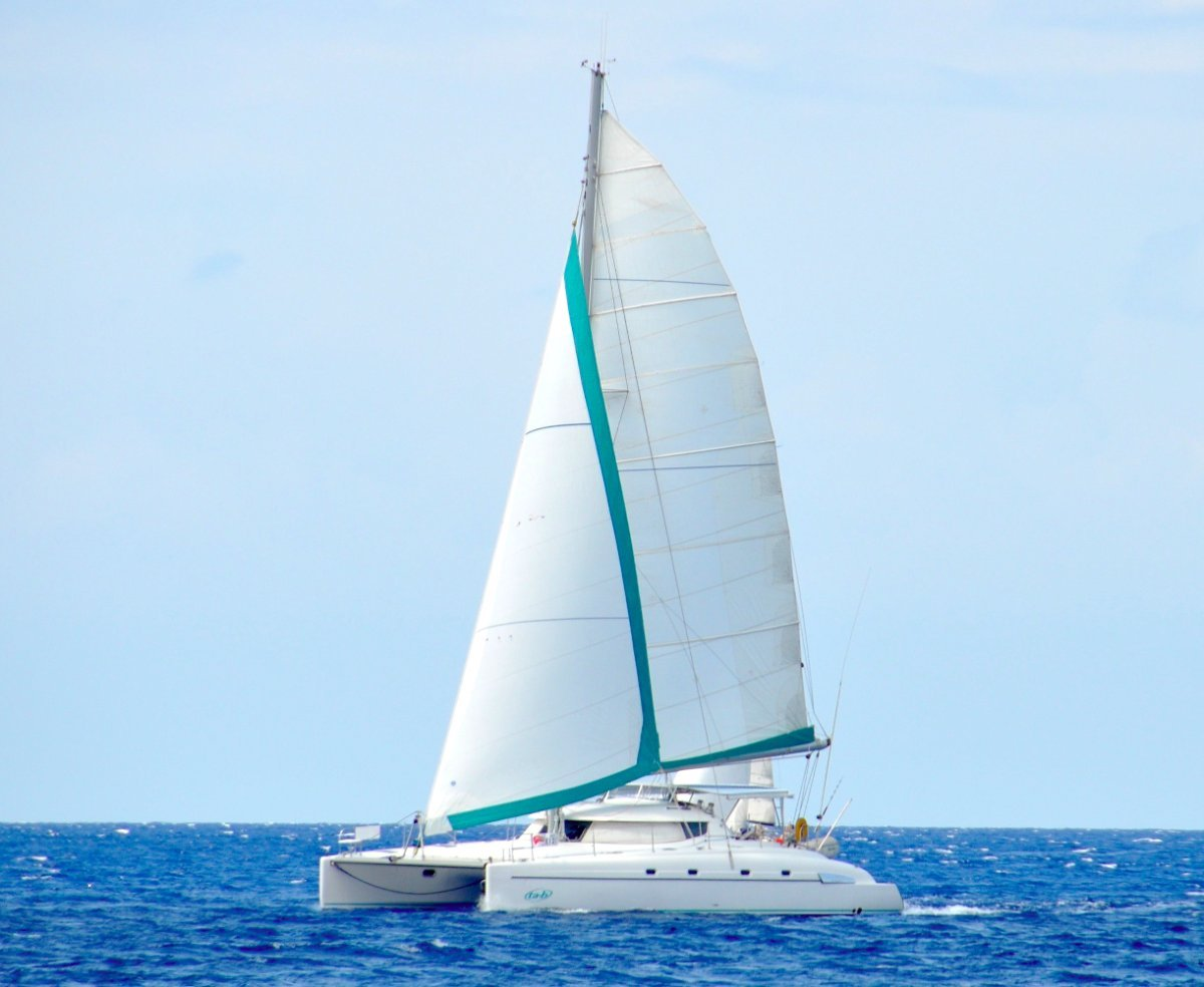 Fountaine Pajot Bahia 46 Maestro Owners Version:At sail