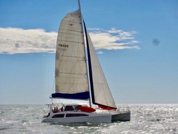 Seawind 1160 Catamaran 1/3 Share:Sailing in Shark Bay
