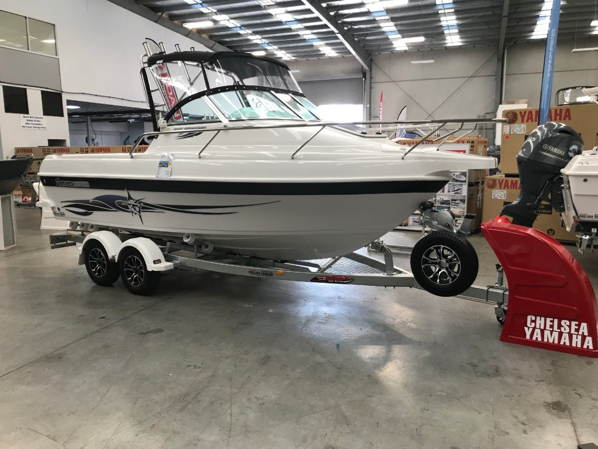 Haines Hunter 565 Offshore powered wuith 130HP Yamaha 4 stroke $62500.00