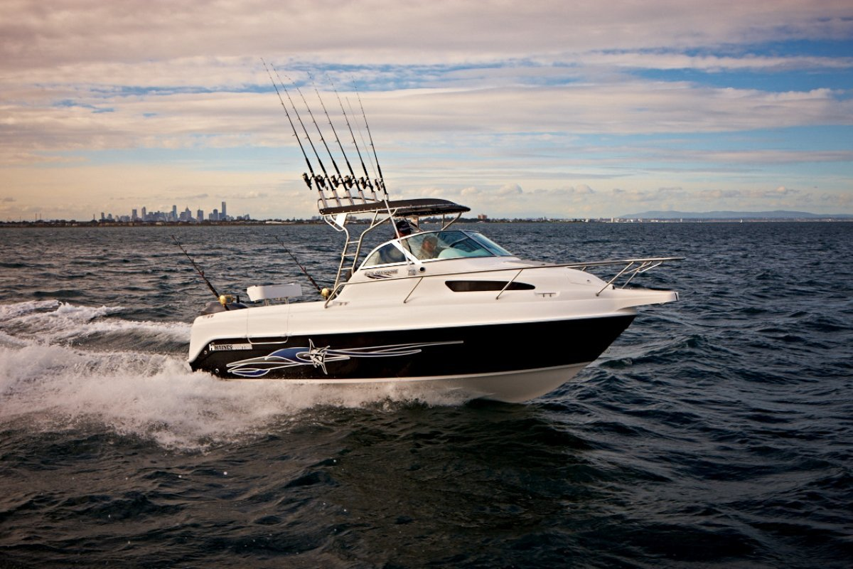 Haines Hunter 625 Offshore powered with 175Yamaha 4 stroke