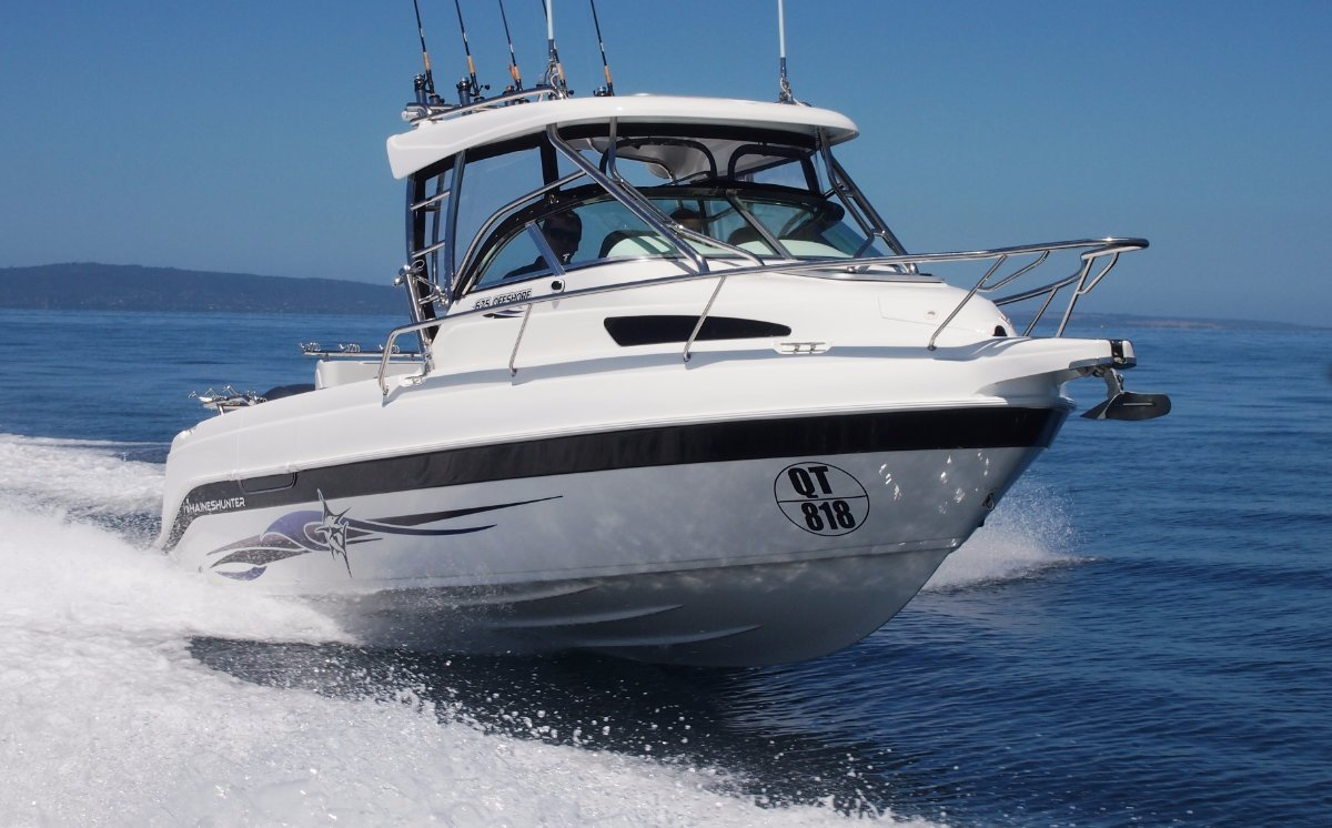 Haines Hunter 625 Offshore Hard Top powered with 175Yamaha 4 stroke