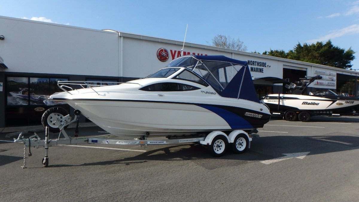 Whittley CR 2080 SD + Volvo V6-200-G SX-A 200hp Petrol Sterndrive