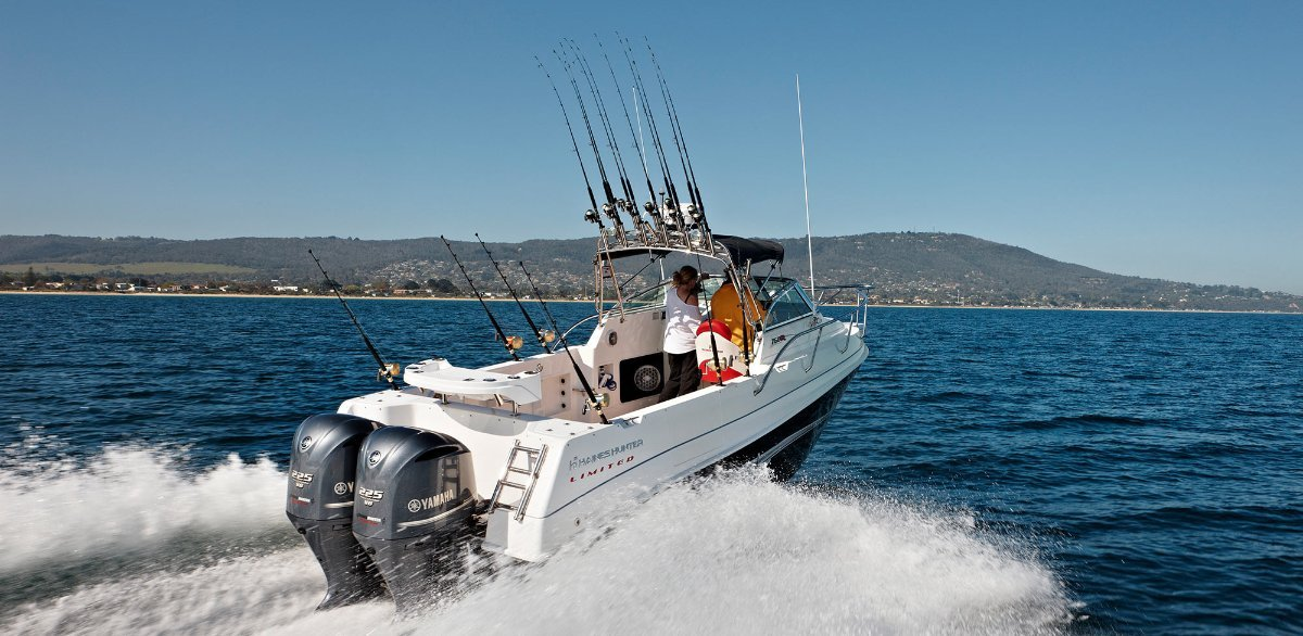 Haines Hunter 760R Limited Powered with 300HP Yamaha 4 Stroke $166.490.00