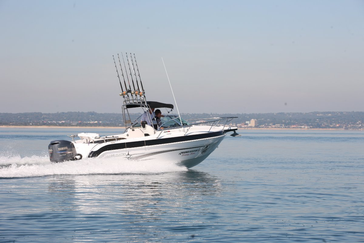 Haines Hunter 600 R powered with 200HP Yamaha 4 Stroke $94290