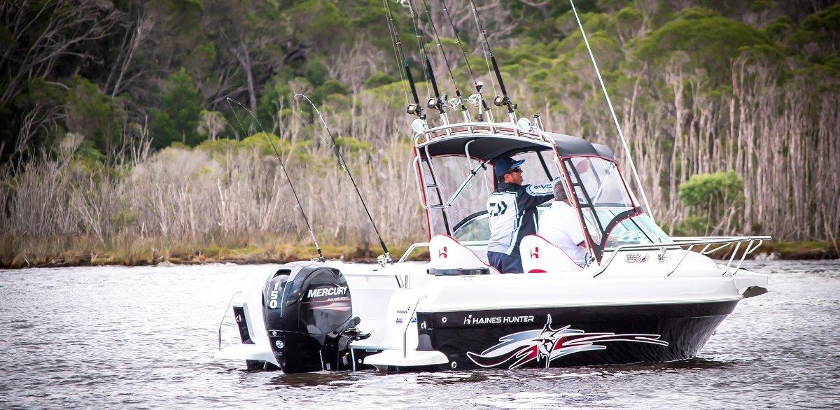 Haines Hunter 565 R powered with 150Yamaha $ Stroke $67900.00