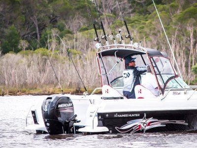 Haines Hunter 565 R powered with 150Yamaha $ Stroke $67900.00