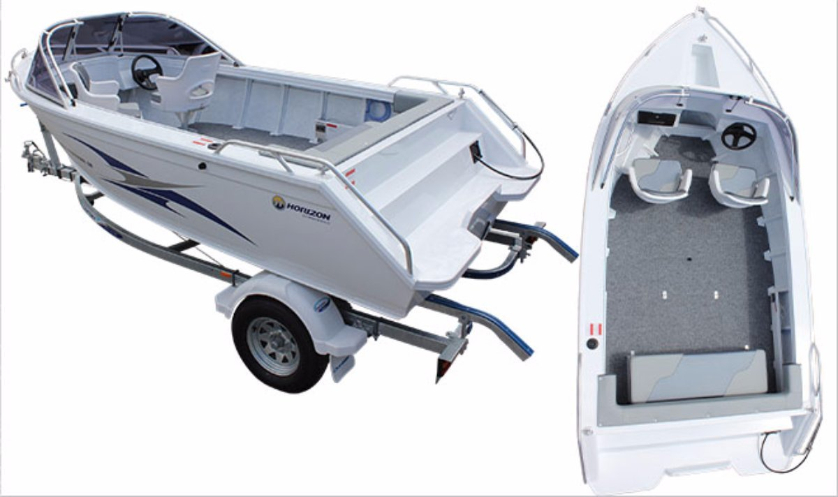 Horizon Aluminium Boats 454 Stryker SR