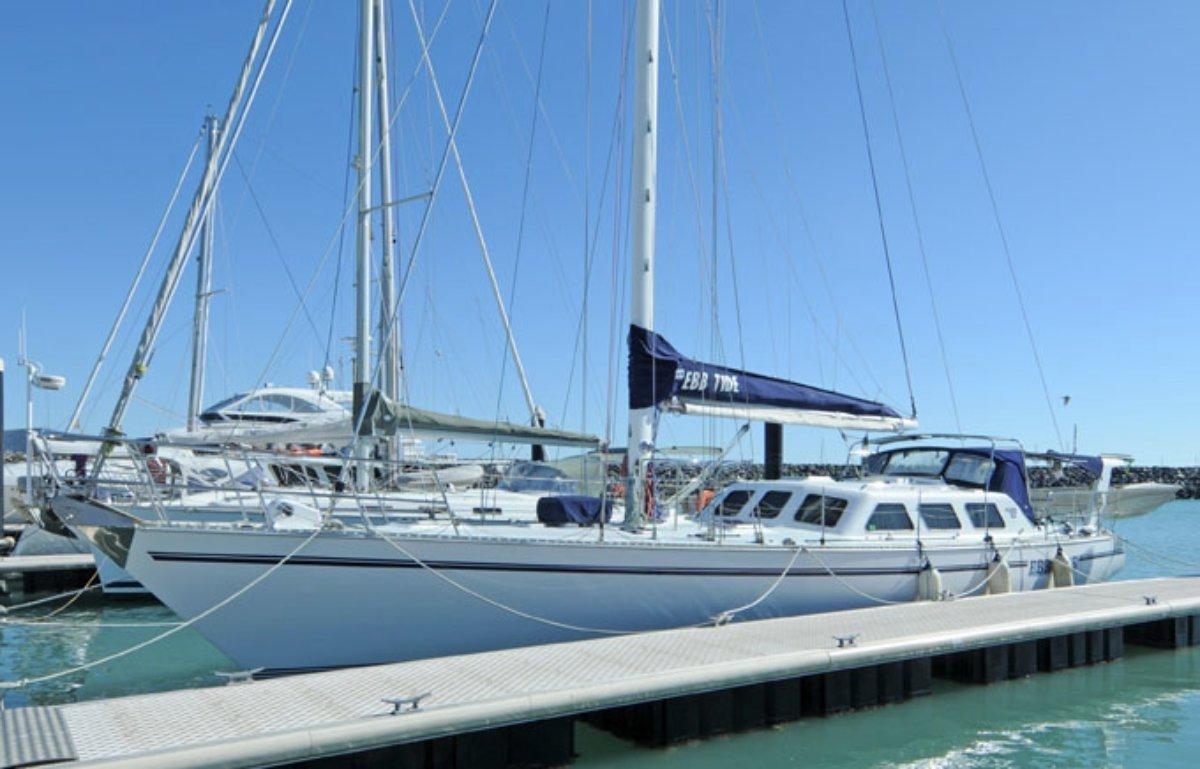Adams 53 Pilothouse Sailing Yacht