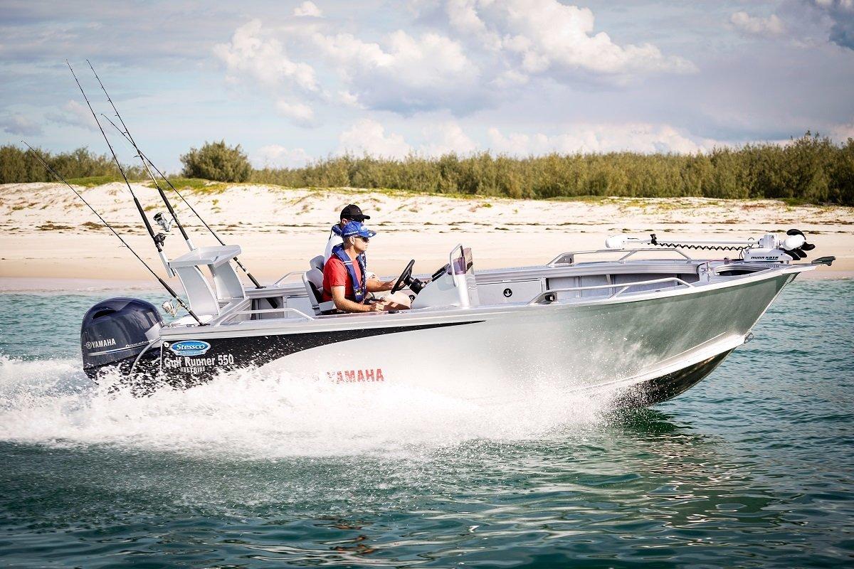 Stessco Gulf Runner 550 Powered with 70 HP Yamaha 4 stroke